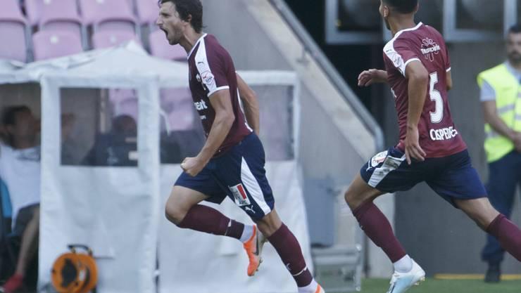 Miroslav Stevanovic schoss Aufsteiger Servette zum ersten Saisonsieg