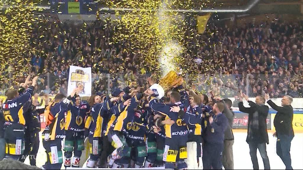Schweizermeister SC Langenthal kann nicht aufsteigen