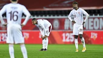 Enttäuschung und Frustration bei den Schweizern: Defensive Probleme so gross wie noch nie unter Vladimir Petkovic