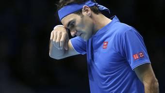 Roger Federer verliert zum Auftakt bei den ATP Finals