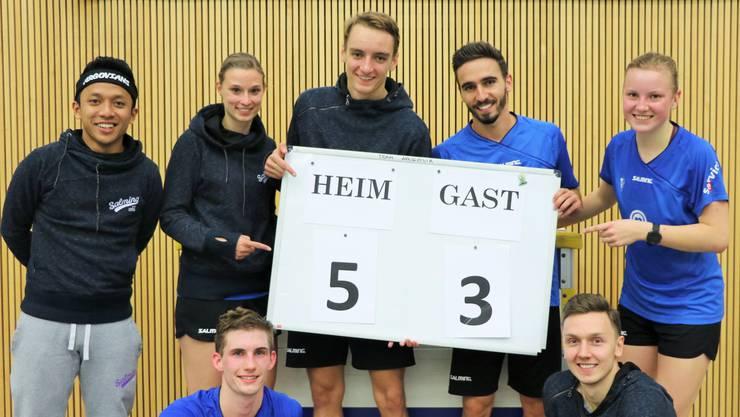 Das Team kann mit diesem Sieg entspannt der Doppelspielrunde am 28./29. Oktober entgegensehen.