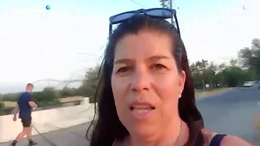 So erlebt eine Schweizerin die Waldbrände in Griechenland