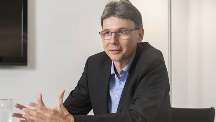 Der 50-jährige Windischer Dieter Egli reist gerne nach Deutschland und sieht die Vielfalt des Aargaus als Chance.
