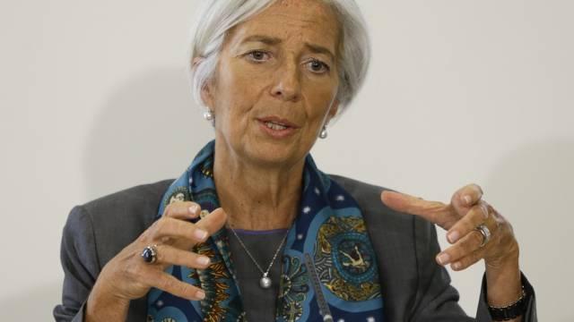 Christine Lagarde schliesst einen Rücktritt vom IWF aus (Archiv)