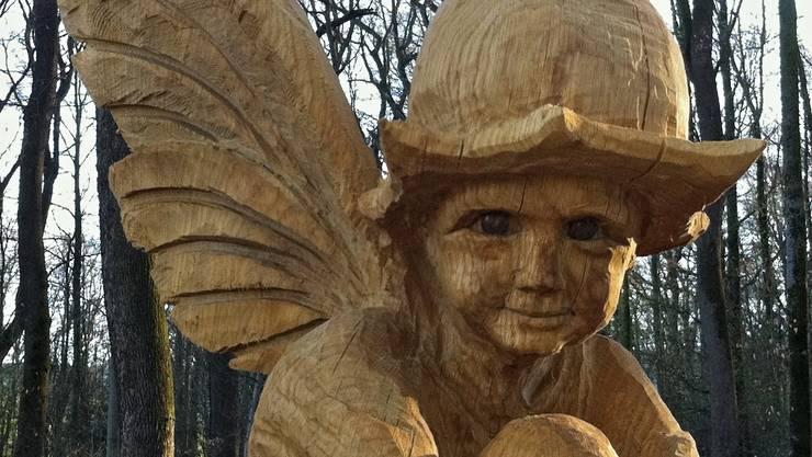 Auf dem Skulpturenweg in Reinach gibt es viel zu entdecken.
