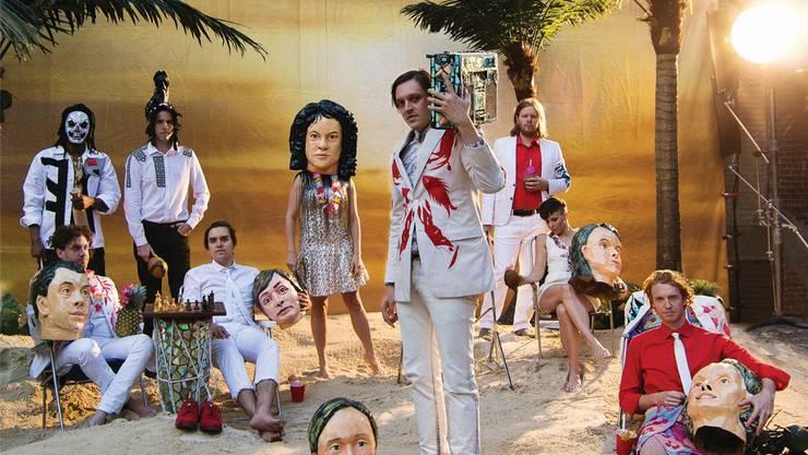 Normal zu sein, ist verrückt: Arcade Fire. HO