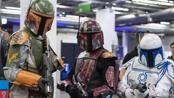 """Fantasy Basel: Die Comic Con """"Fantasy Basel"""" hat am Donnerstag zum vierten Mal ihre Tore geöffnet."""