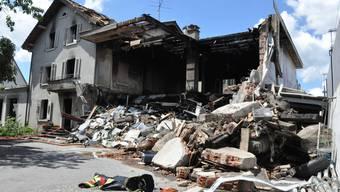 Brand in Lenzburg: Der Tag danach