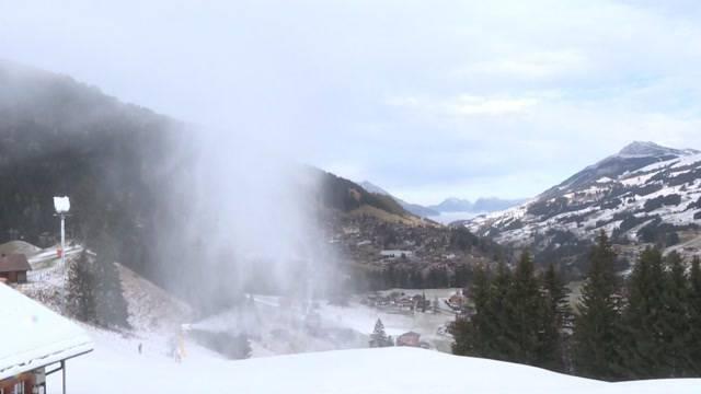 Fährt Frau Holle gerne Ski?