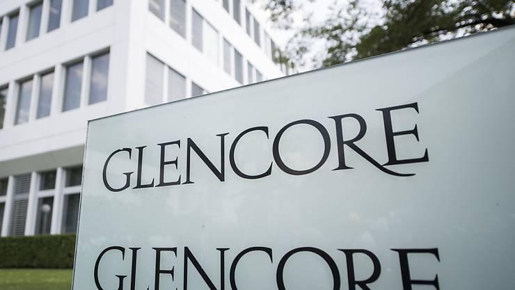 Glencore ist trotz der Konjunkturabschwächung zuversichtlich. (Archiv)