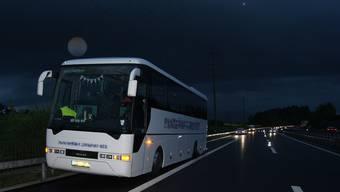 Im tschechischen Reisecar befanden sich 39 Passagiere. (Symbolbild)