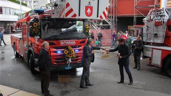 Feuerwehr in Grenchen