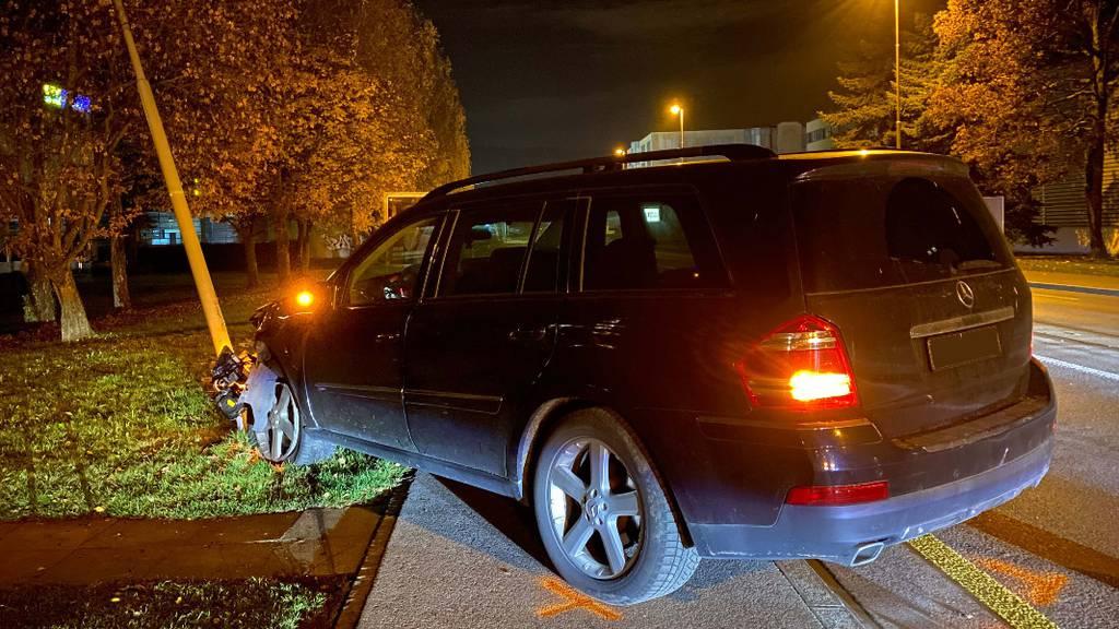 Betrunkener 15-Jähriger klaut das Auto des Vaters