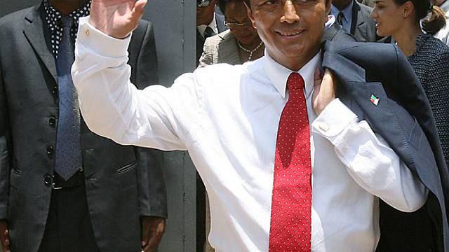 Marc Ravalomanana als er noch im Amt war (2006)