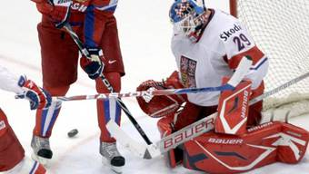 Malkin scheitert einmal mehr an Tschechien-Goalie Vokoun
