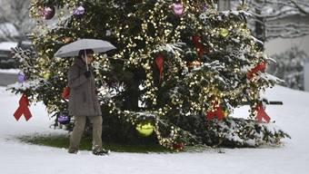 Weisse Weihnachten waren schon früher eher die Ausnahme.