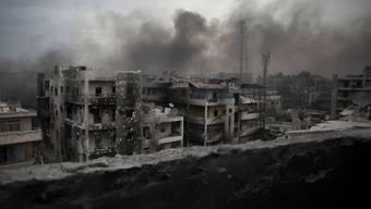 Zerstörte Gebäude in Aleppo. (Archivbild)
