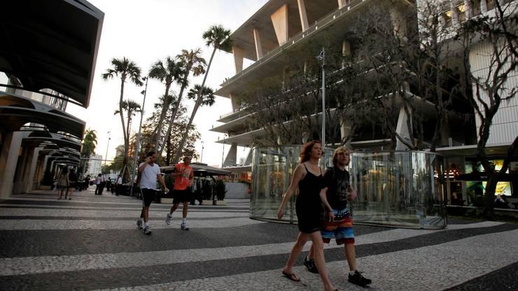 Von Herzog & de Meuron in Miami Beach gebautes Parkhaus.  Keystone