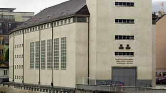 """Das Museum """"Haus Konstruktiv"""" im ehemaligen Zürcher Elektrizitätswerk Selnau."""