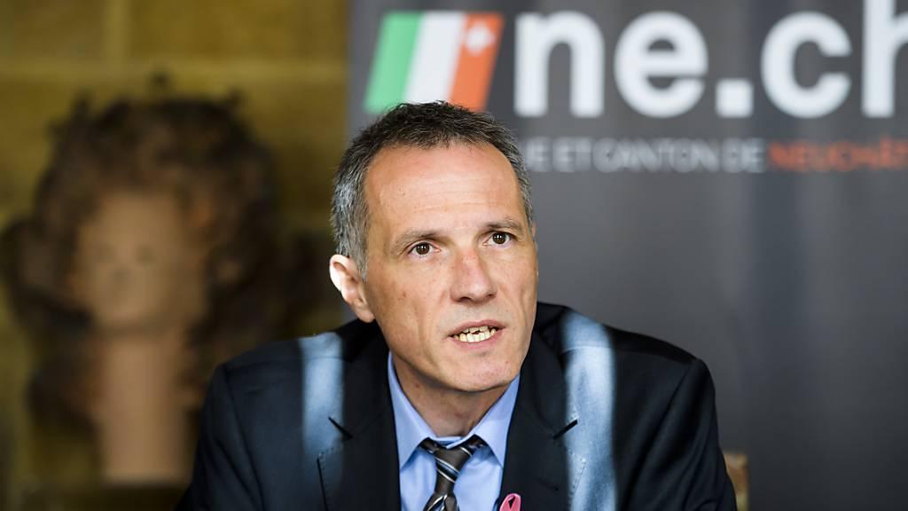 Der Neuenburger Gesundheitsdirektor Laurent Kurth will jeweils den Dienstag zum fixen Testtag auf das Coronavirus machen. (Archivbild)