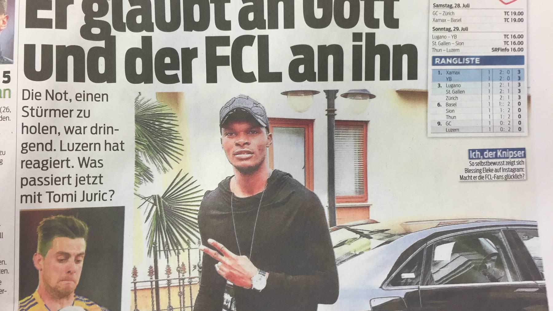 FCL holt wohl einen nigerianischen Stürmer