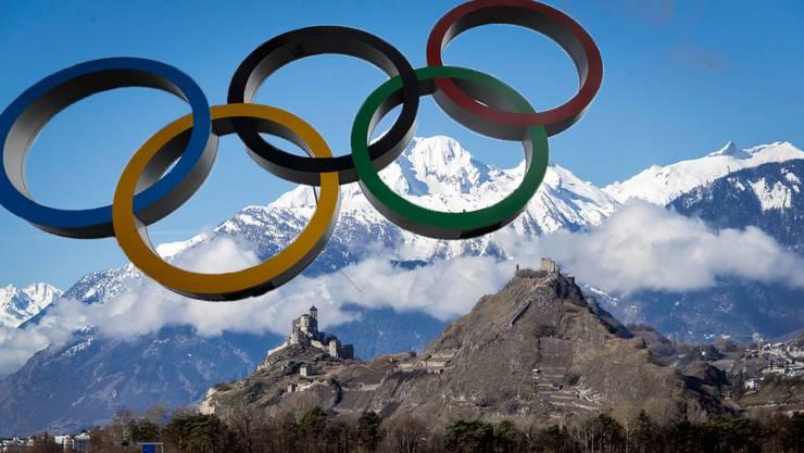 In Sion sollen die Winterspiele 2026 ausgetragen werden.