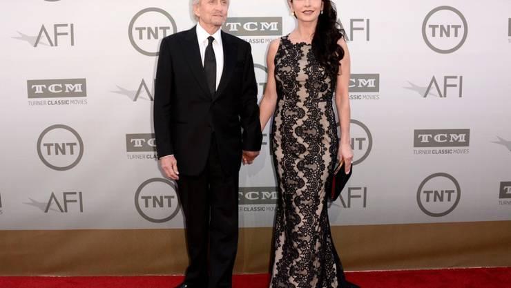 Michael Douglas und Catherine Zeta-Jones sind wieder vollständig versöhnt (Archiv).