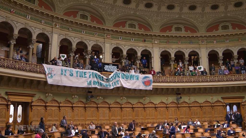Klimaaktivisten sorgen bei Bürgerlichen im Nationalrat für Empörung