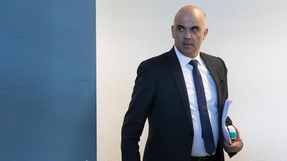 Seine Auftritte verleihen ihm hohe Glaubwürdigkeit: Alain Berset, Gesundheitsminister.