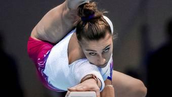 Erster Schweizer Meistertitel im Mehrkampf: die Tessinerin Ilaria Käslin