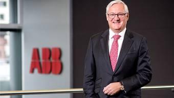 ABB-Präsident Peter Voser nach dem Interview vergangene Woche am ABB-Hauptsitz in Zürich Oerlikon.