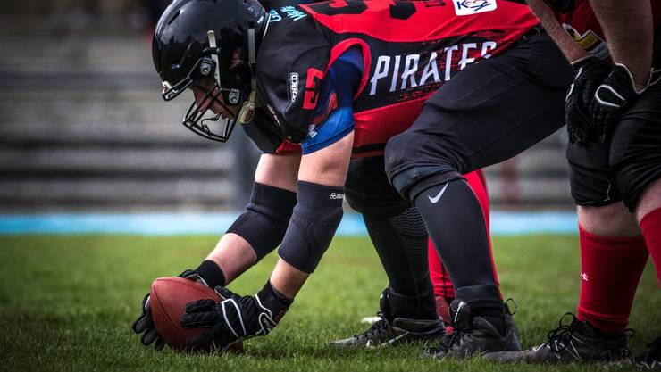 Die Argovia Pirates freuen sich auf viele Football Interessierte an den Probetrainings (Bild: Gaspar Gentile)