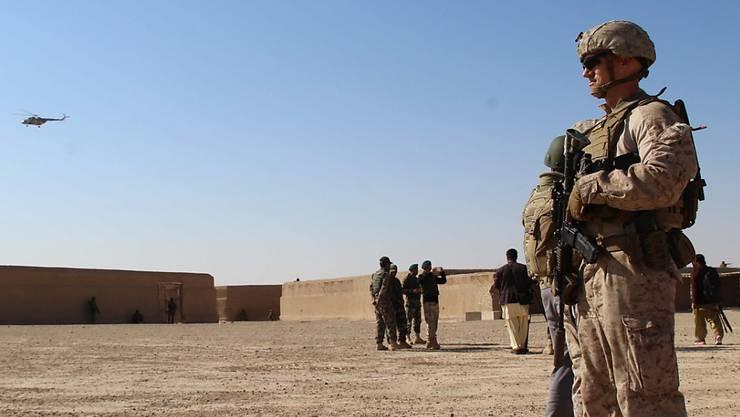 Das Pentagon hat mit neuen Zahlen über die US-Truppenstärke im Ausland für Verwirrung gesorgt, weil vorher deutlich geringere Werte publiziert worden waren. (Symbolbild)