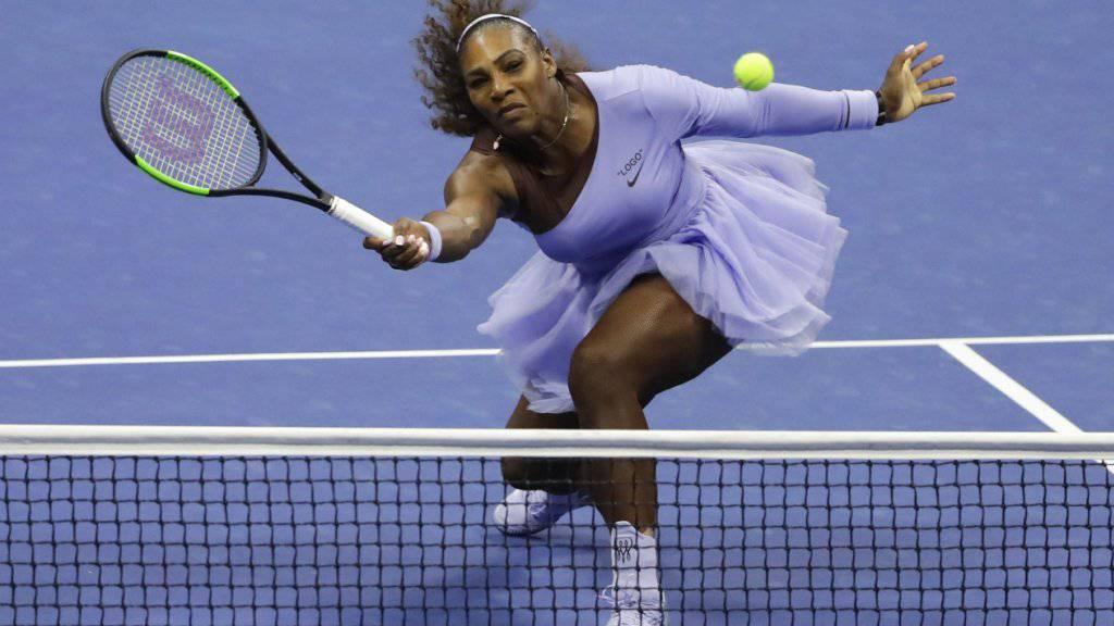 Serena Williams kann den nächsten Eintrag in die Geschichtsbücher schaffen