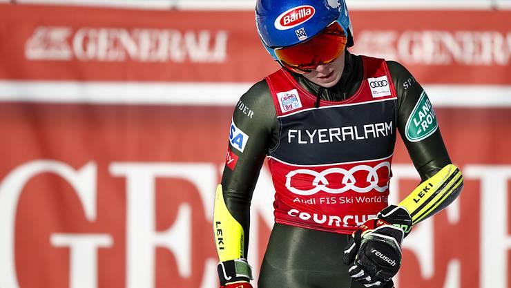 Mikaela Shiffrin erlebte zuletzt eine Enttäuschung am Dienstag in Courchevel