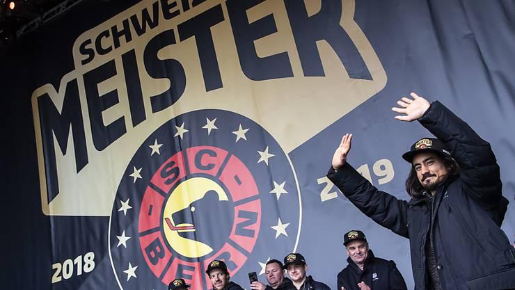 Der SC Bern hat in der nächsten Saison einen finnischen Weltmeister im Team