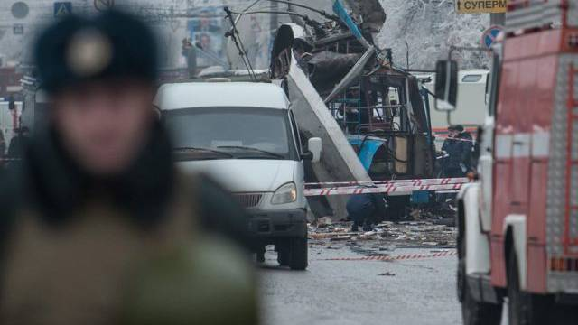 Nach dem Anschlag vom Dezember in Wolgograd (Archiv)