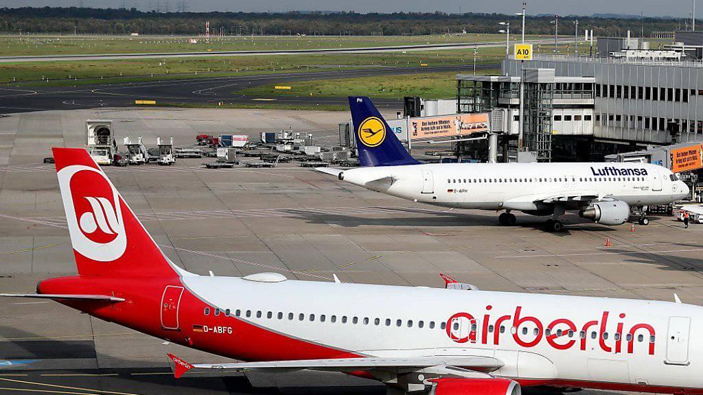 Versteigerung bei Air Berlin findet grossen Anklang. (Symbolbild)