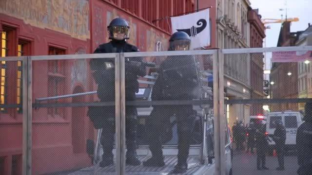 Anti-Pegida-Demonstration in Basel