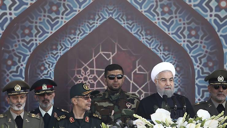 Die USA haben weitere Personen und Firmen aus dem Iran auf eine Sanktionsliste gesetzt, um der Führung der Islamischen Republik zu schaden. (Archivbild)