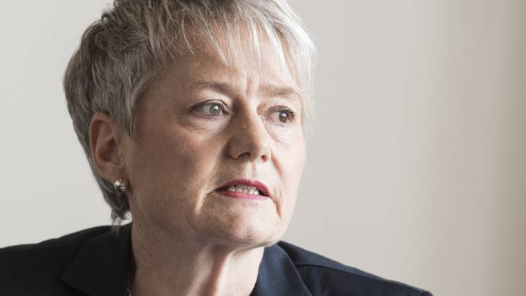 Muss bei einem Informatikprojekt für den Justizvollzug über die Bücher: Justizdirektorin Jacqueline Fehr (SP). (Archivbild)