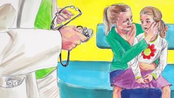 Das Mädchen ist nicht krank. Dann merken die Ärzte: Mit der Mutter scheint etwas nicht zu stimmen.
