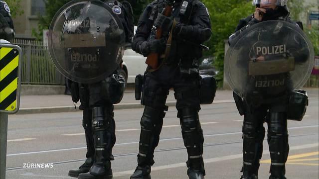 Polizei hat die Stadt fest im Griff