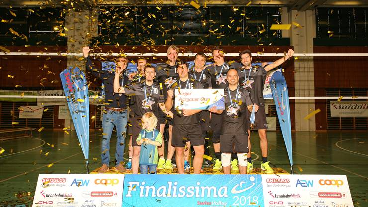 Die Volleyballer des VBC Windisch können sich zum achten Mal Aargauer Cupsieger nennen.