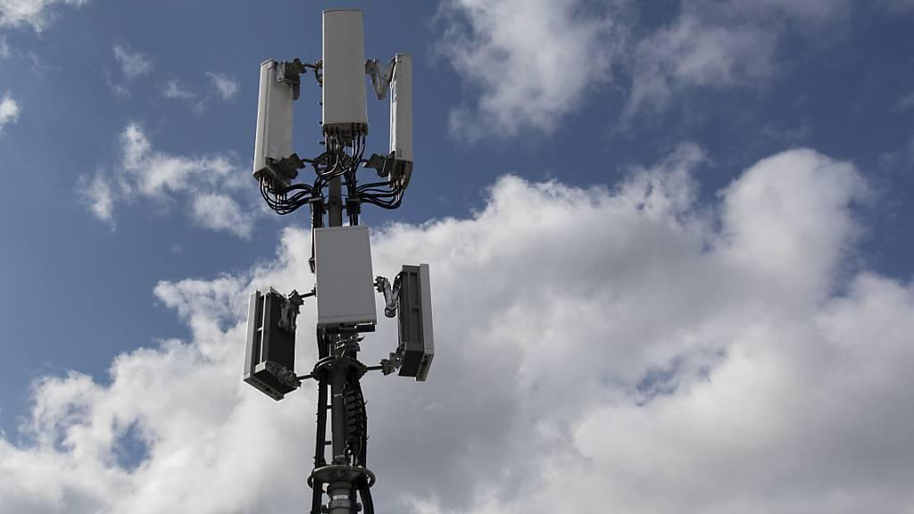 Der Ausbau mit 5G-Antennen wird in der ganzen Schweiz vorangetrieben. Die Stadt St. Gallen prüfte Alternativen. (Symbolbild)