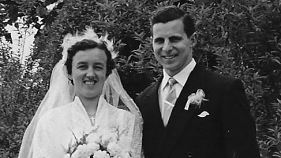 Hochzeitsfoto von 1955