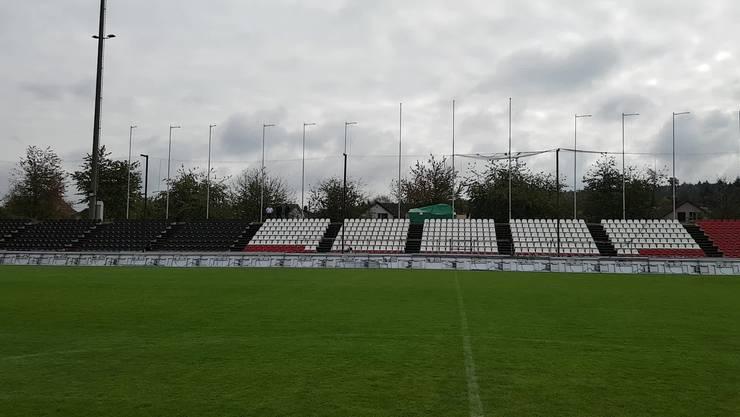 So schick ist das Corona-Brügglifeld geworden: Nun wartet der FC Aarau sehnlichst auf die Bewilligung