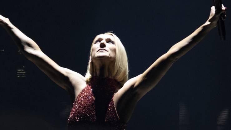 """Céline Dion beim ersten Auftritt ihrer """"Courage World Tour"""" in Québec. Im nächsten Sommer macht der Superstar Halt im Zürcher Hallenstadion und am Genfersee."""