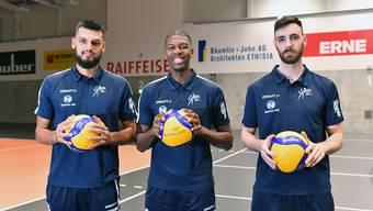 Ausländische Verstärkung für Volley Schönenwerd