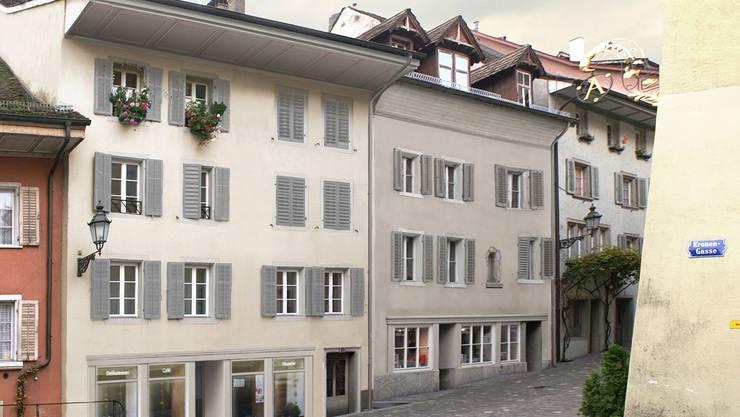 Die Häuser an der Unteren Halde 5 und 7 sind sanierungsbedürftig.
